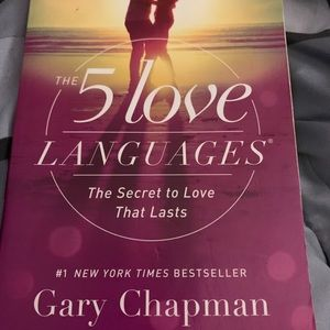 5 languages of Love Book for sale!